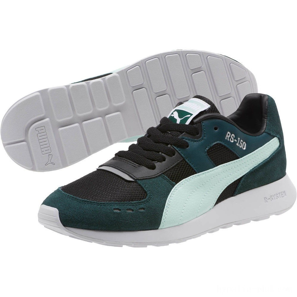 Puma RS-150 Mesh Women's Sneakers Ponderosa Pine-Fair Aqua Sales