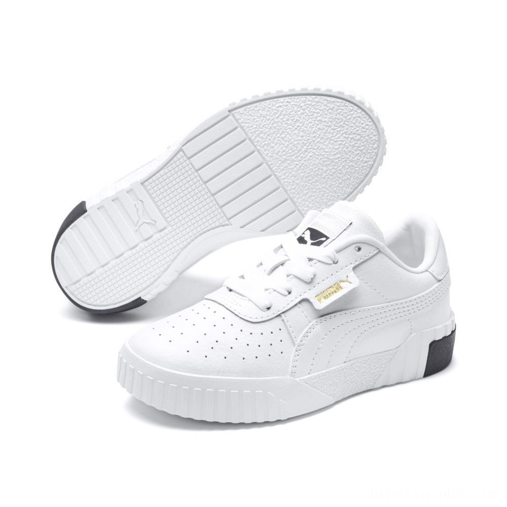 Puma Cali Sneakers PS White- Black Sales