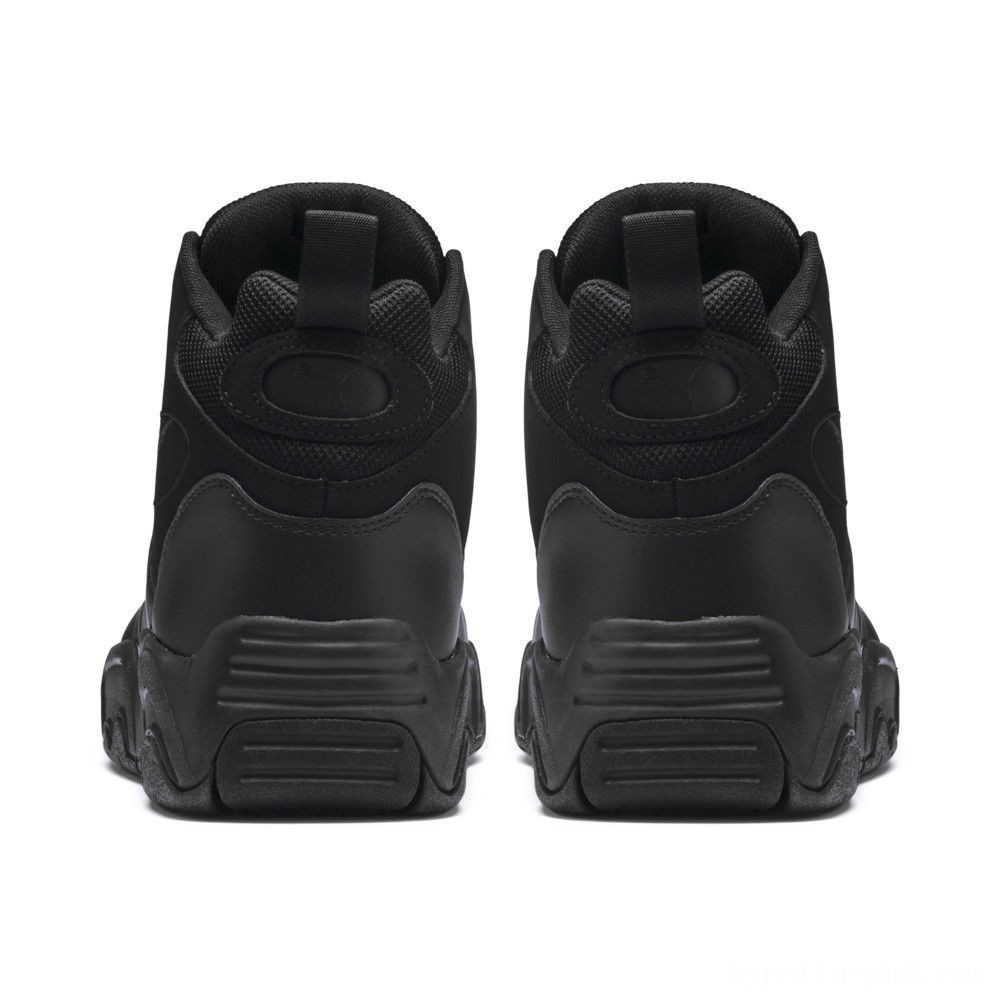 Puma Source Mid Sneakers Black Sales