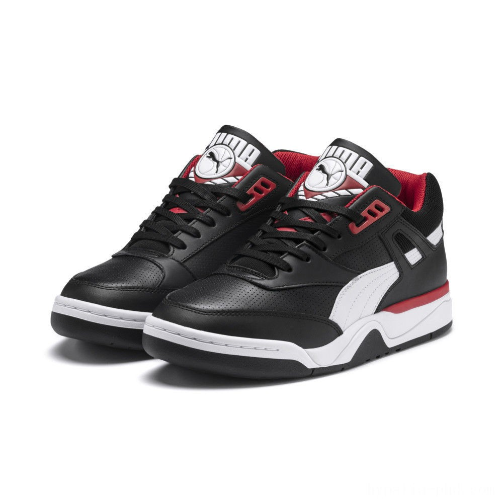 Puma Palace Guard Men's Sneakers Black- White-red Sales
