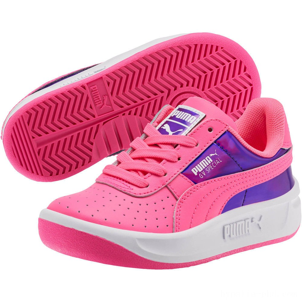 Puma GV Special Mirror Metal Sneakers PSKNOCKOUT PINK- White Sales
