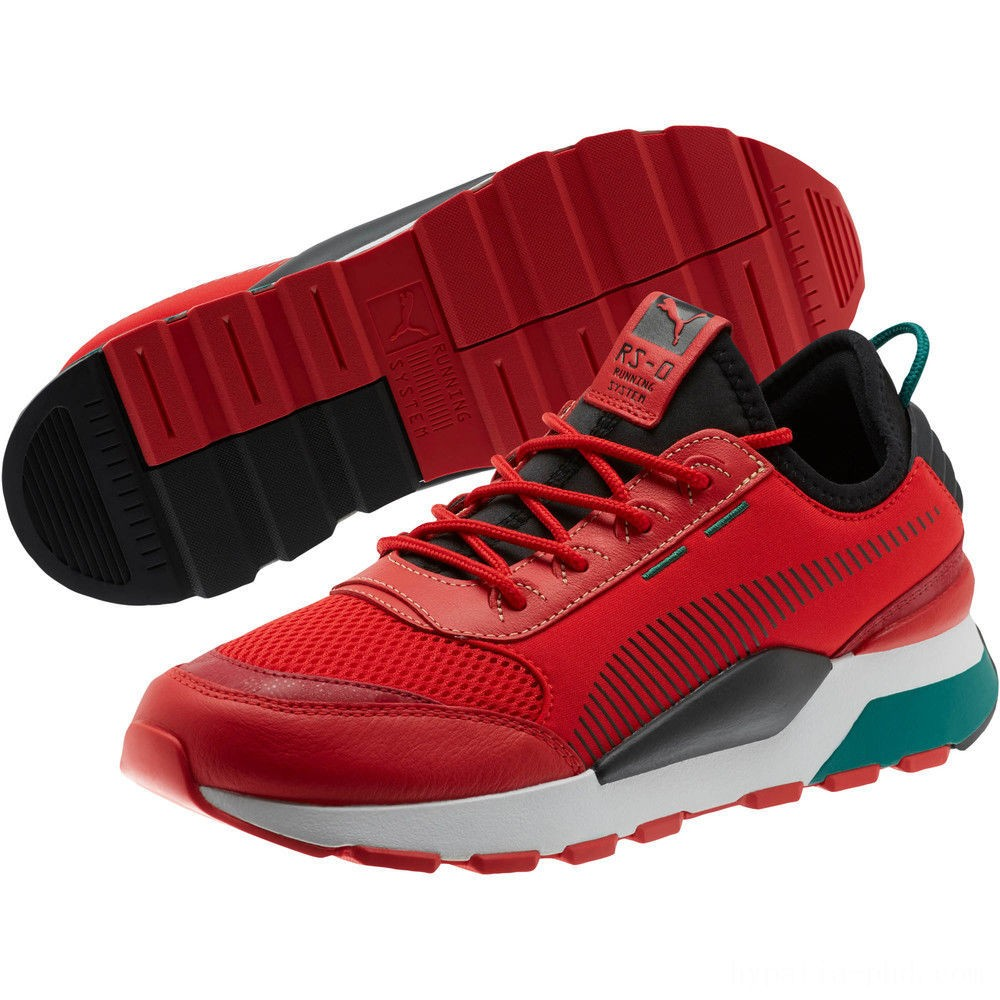 Puma RS-0 RM Sneakers High Risk Red- Black Sales